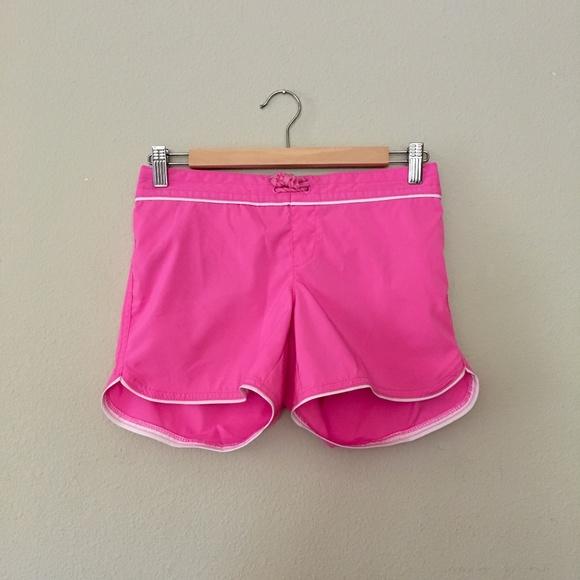 Lands' End Swim | Lands End Girls Swim Board Shorts Pink | Poshmark